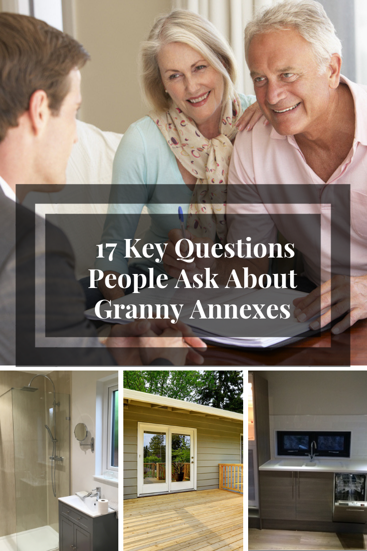 """17 Key Questions People Ask About Granny Annexes. We are proud to say we are one of the most sought after companies in the niche who offer turn-key annexes that would love to call """"home."""" #grannyannex #grannyannexe #planningpermission #downsizing"""
