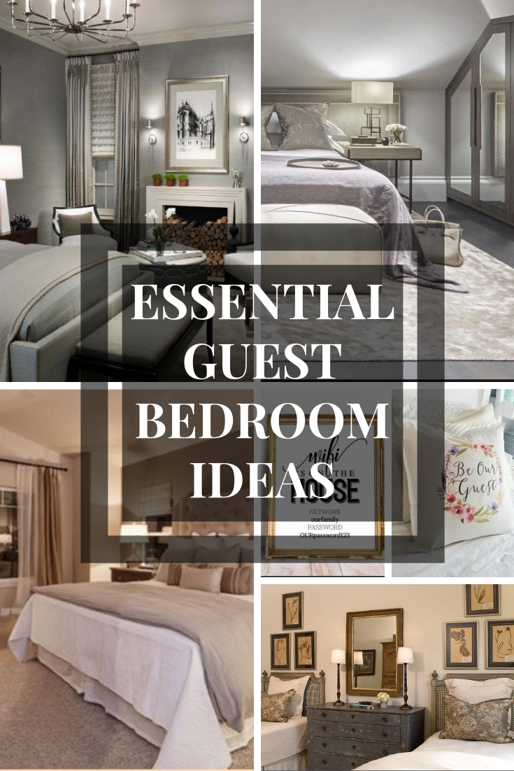 The spare room is often one of the most pristine rooms of he house (due to its lack of use for most of the year) but when you to make sure your guests feel like they at home, there are a few essentials that make creating a cosy guest room even easier. #guestrooms #guestbedroom #interiordesign #guestrooomideas