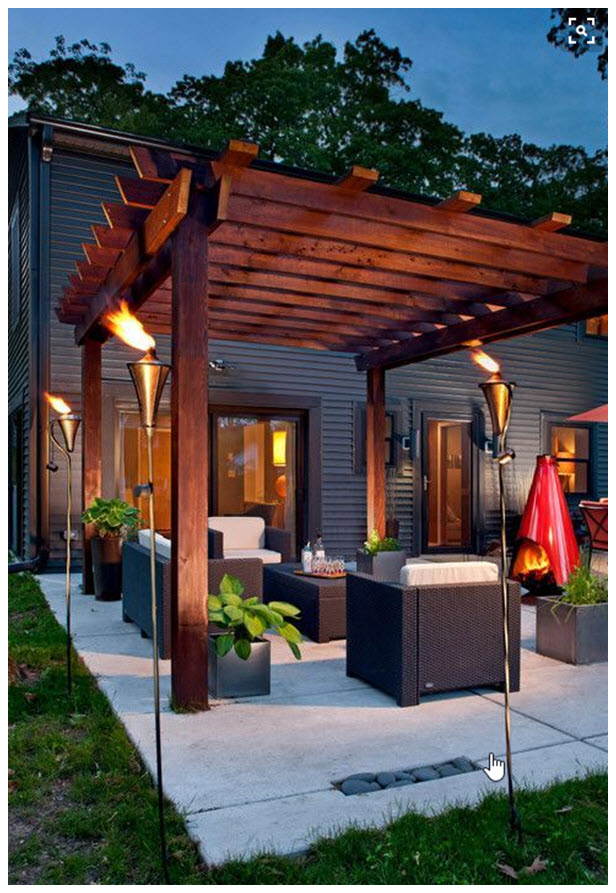 """outdoor living area ideas"""