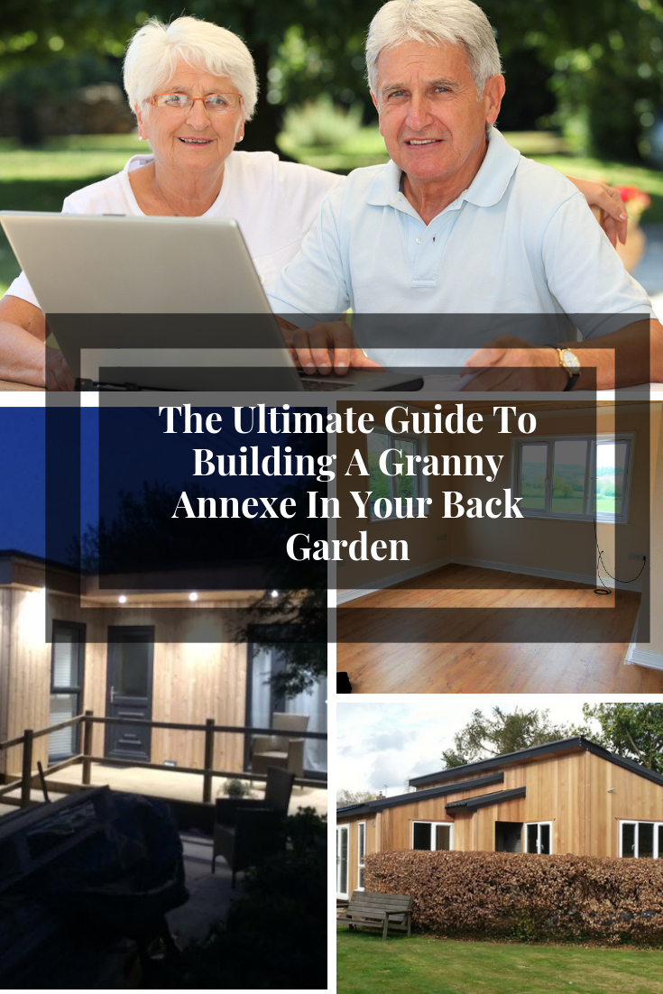 The Ultimate Guide To Building A Granny Annexe In Your Back Garden. If you are thinking about building a granny annexe in your garden, this ultimate guide will help you get things right, and give you some of the best tips and ideas based on our extensive experience in the field over the last few years #grannyannex #grannyannexe #mobilehome #grannyannexplanning