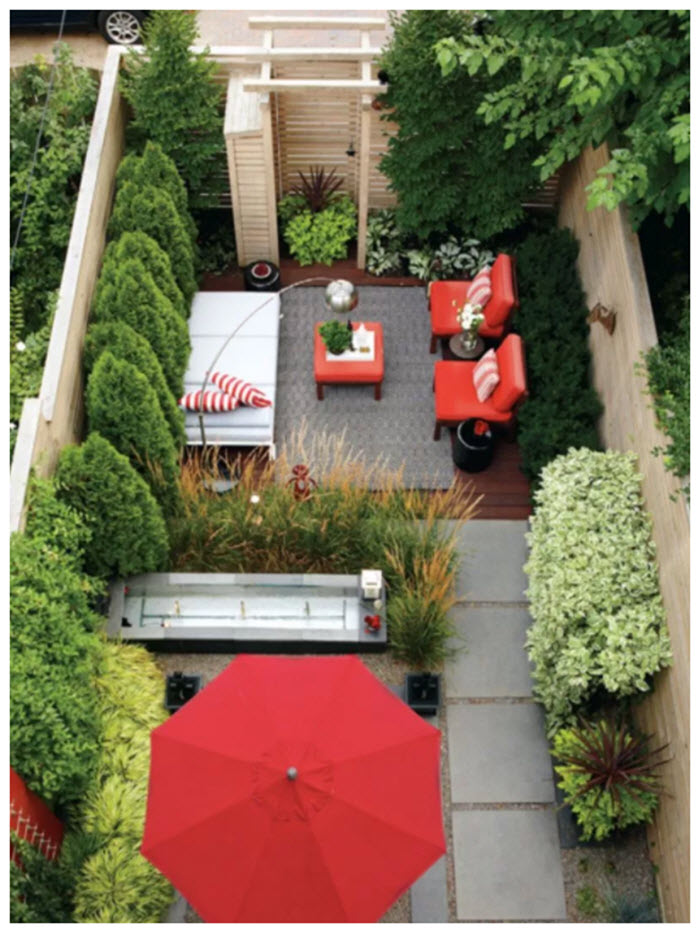 Small Gardens With Big Outdoor Living Area Ideas Outdoor Living