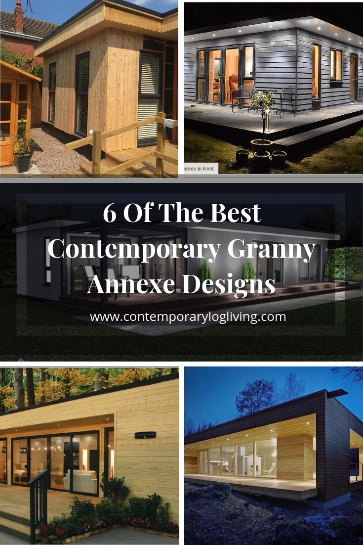 Contemporary Granny Annexes Are A Popular Way To Add A Modern Style Annexe To Your Back Garden. Learn More About 6 Of The Best Contemporary Granny Annexes Designs We've Found In The UK. Contemporary Granny Annexes typically feature floor to ceiling windows, bi-fold doors and that must-have porch overhang with down lights to create a stunning look at night. #grannyannexe #contemporarygrannyannexe #grannyannexefloorplans #grannyannexedesigns #contemporarygardenrooms #gardenstudios