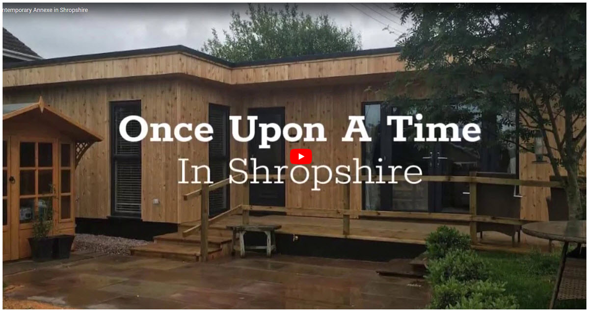 Case Study | Contemporary Granny Annexe In Shropshire