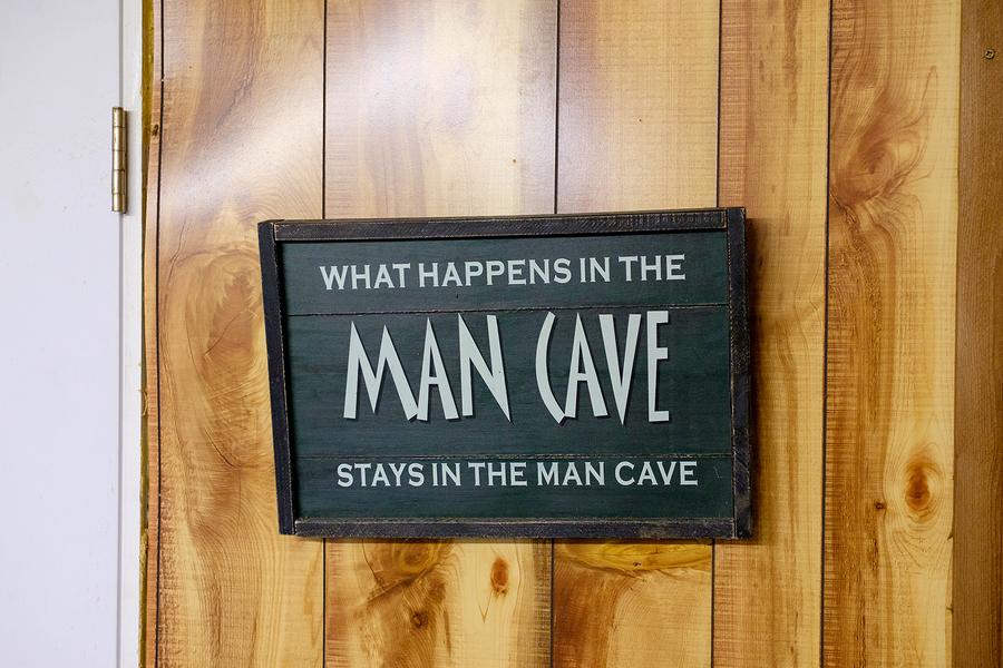 """""""signature studio man cave"""""""