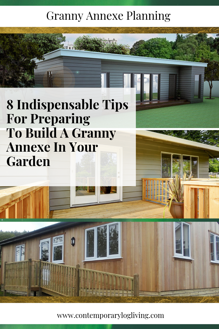 Follow these 8 Indispensable Steps To Planning A Granny Annexe in your back garden.