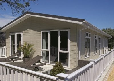 """Buckland Residential Mobile Home Annexe"""