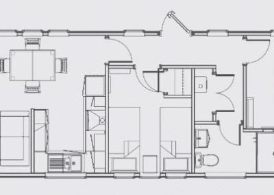 FORESTERS SU floor plan 42 x 14