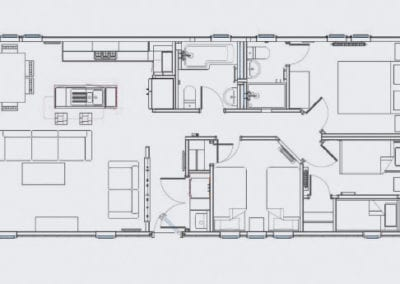 Casa Di Lusso 3 Bedroom Floor Plan (others available on request)
