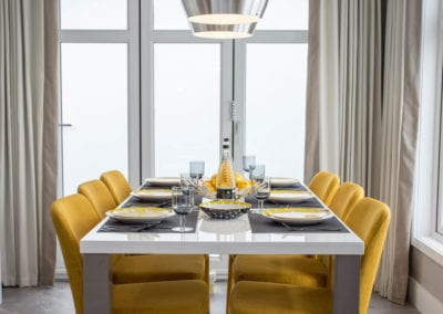 Prestige lookout dining room