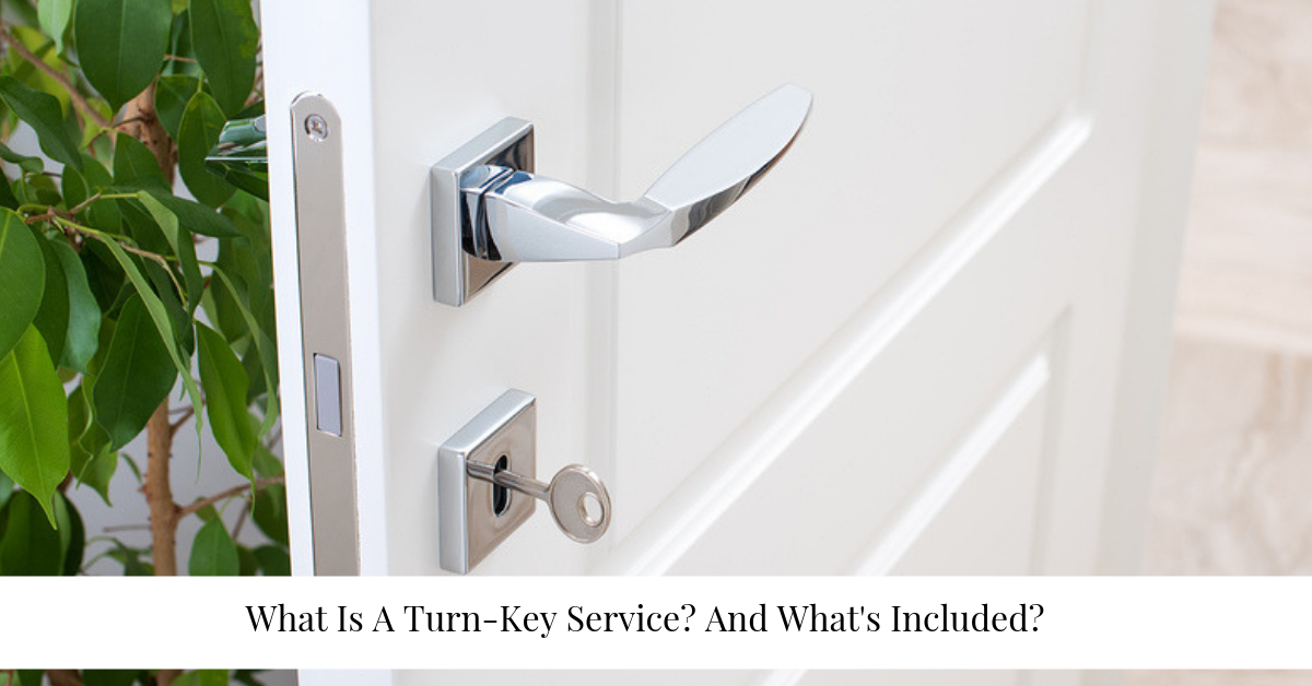 """what is a turn key service"""