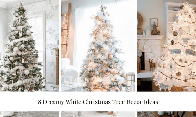 8 Dreamy White Christmas Tree Decor Ideas