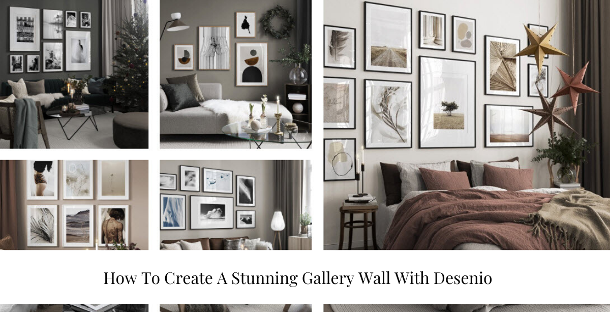 """how to create a gallery wall"""