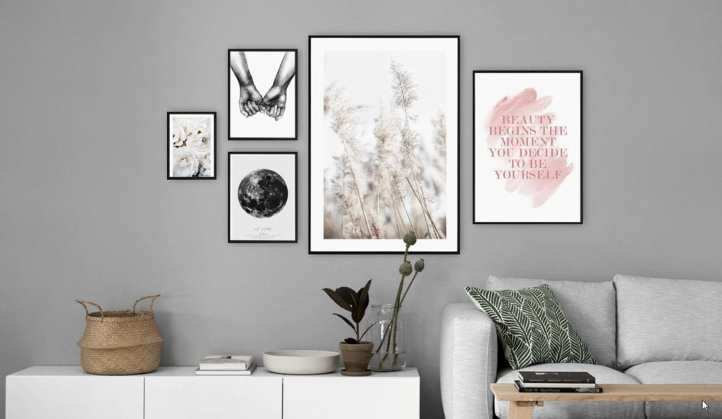 """create a gallery wall"""