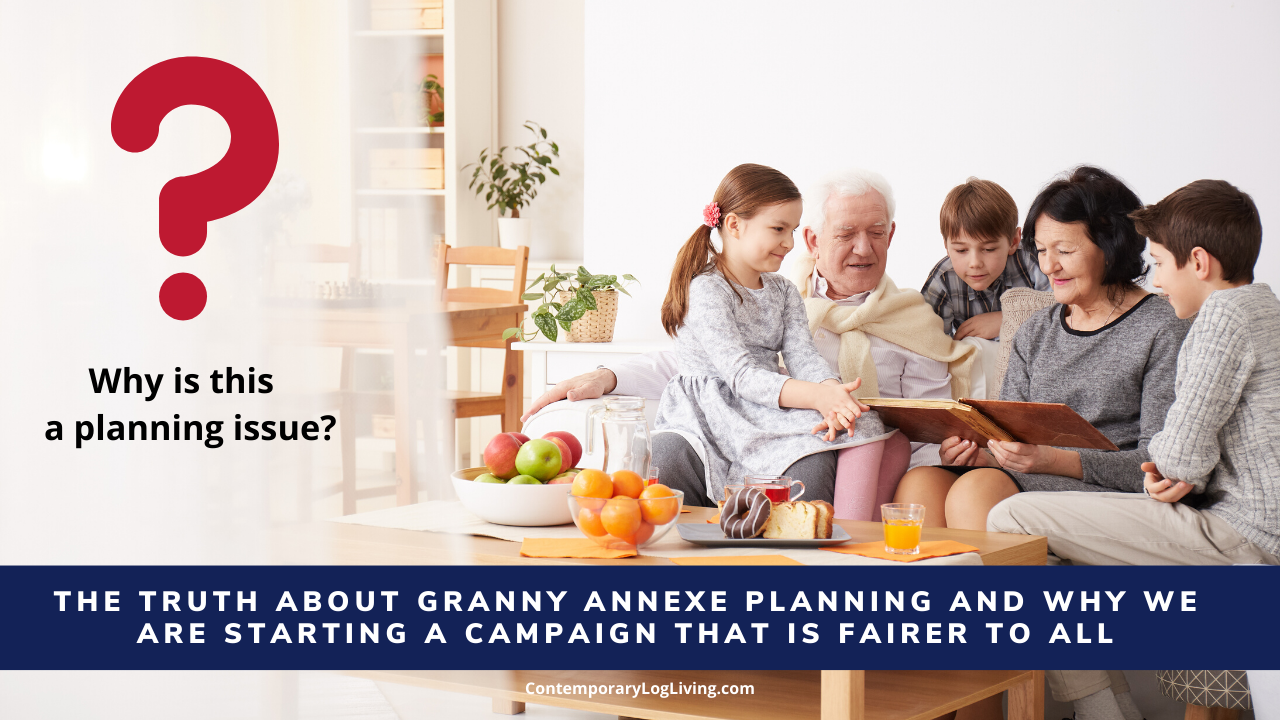 """Granny Annexe PLanning The Truth"""