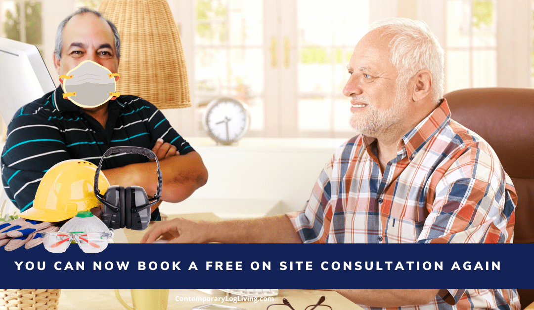 You Can Now Book A Free On Site Consultation Again