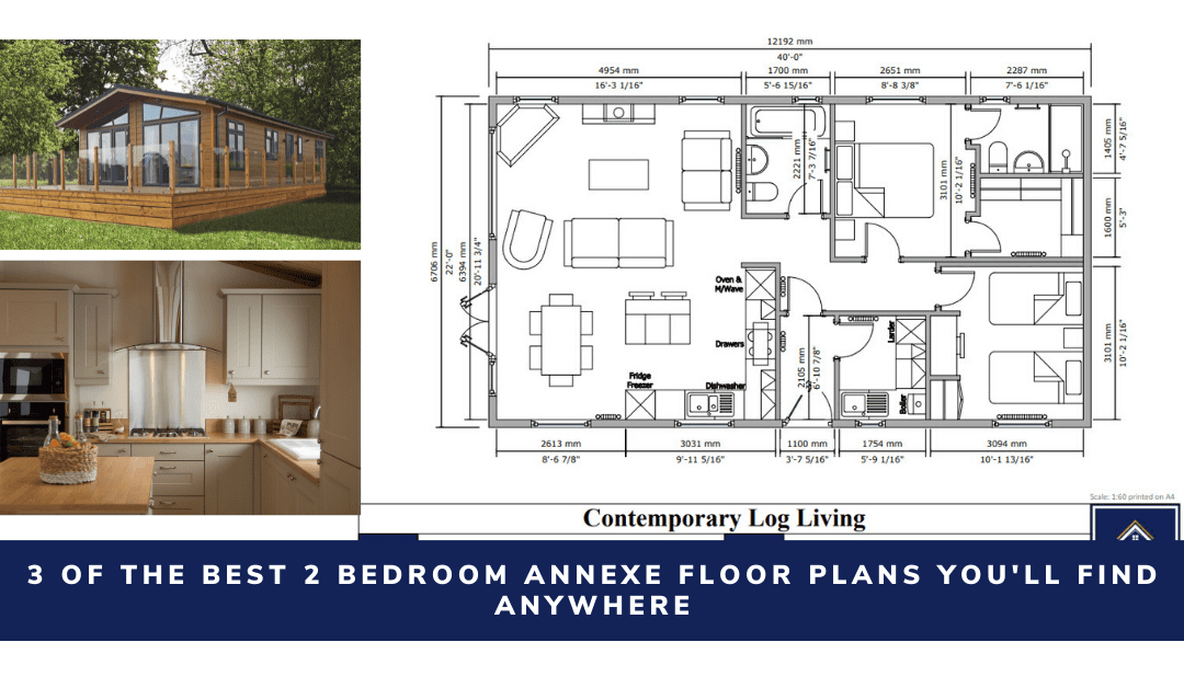 3 Of The Best 2 Bedroom Annexe Floor Plans You'll Find Anywhere