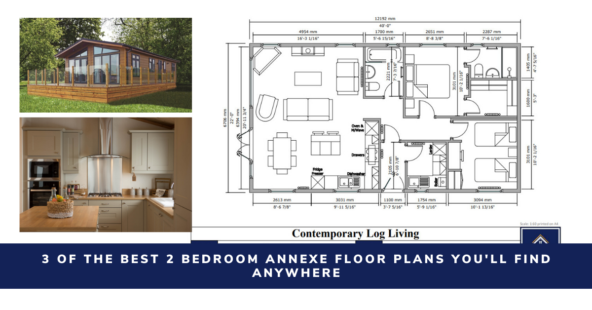 """2 Bedroom Annex Floor Plans"""