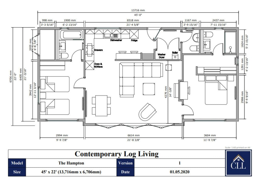 """""""2 bedroom annex floor plan"""""""