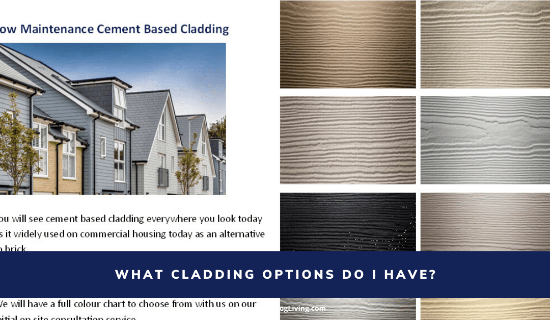 What Cladding Options Do I Have?
