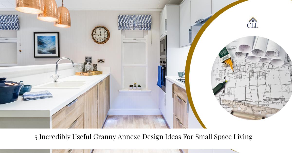"""Granny Annexe Design Ideas"""