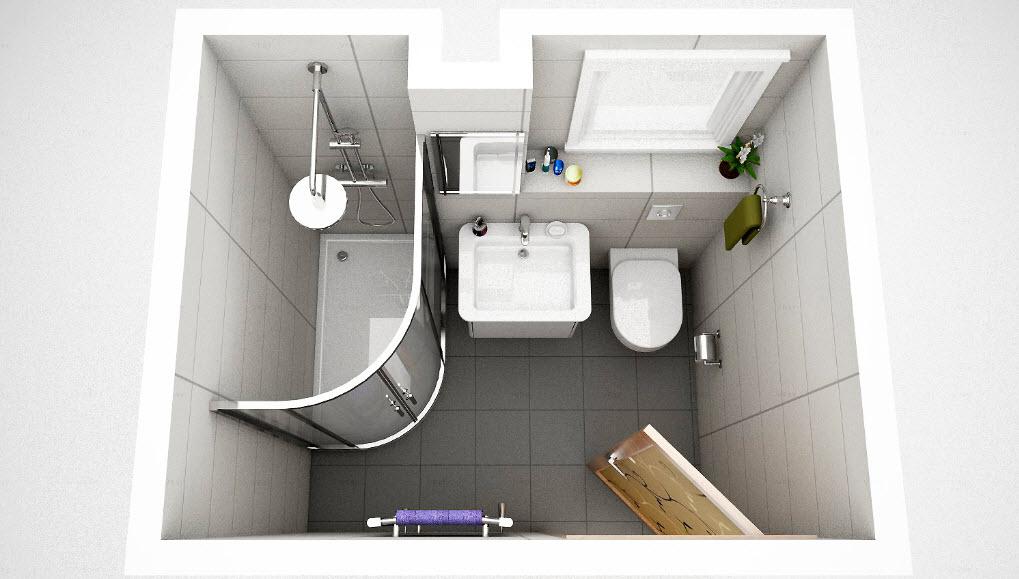 """small space bathroom design"""