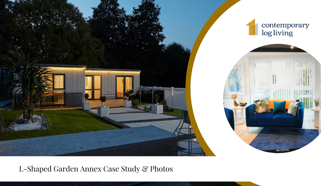 L-Shaped Garden Annex Case Study & Photos