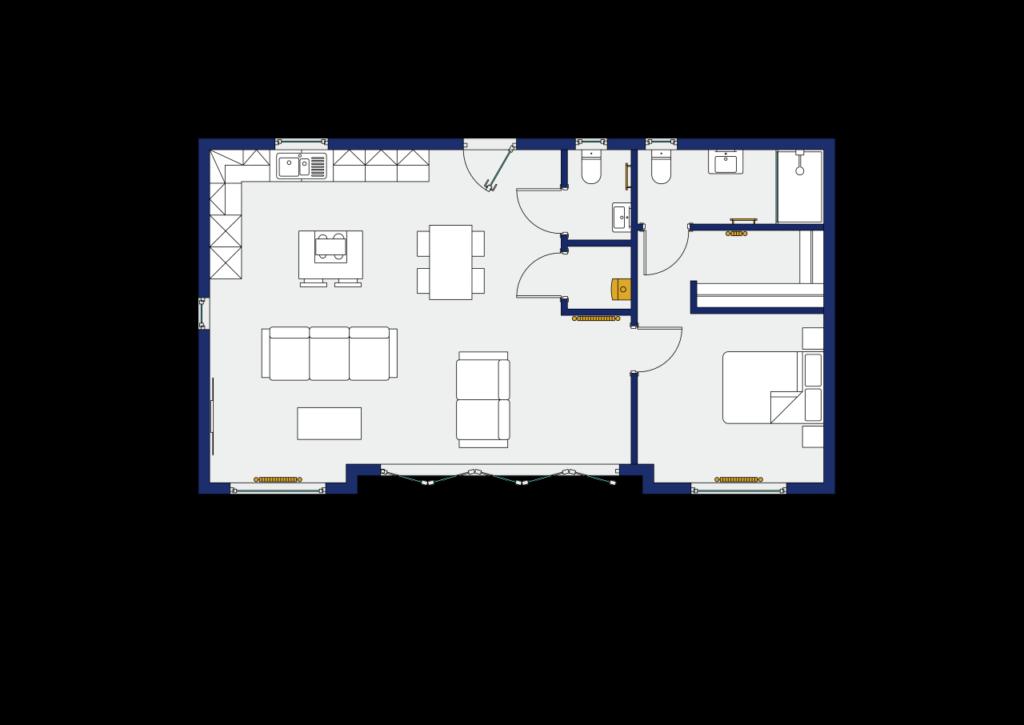 """Rydal Custom Annexe Floorplan"""