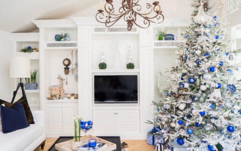 Cobalt Blue Christmas